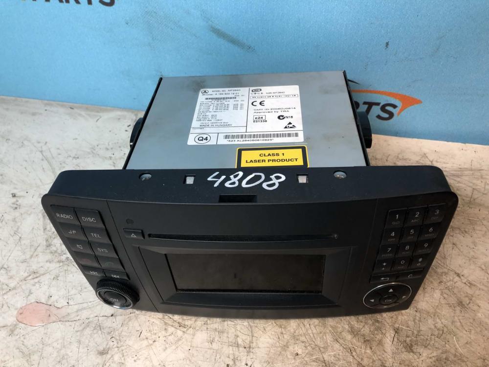 Магнитола (аудио система)   A1649001901